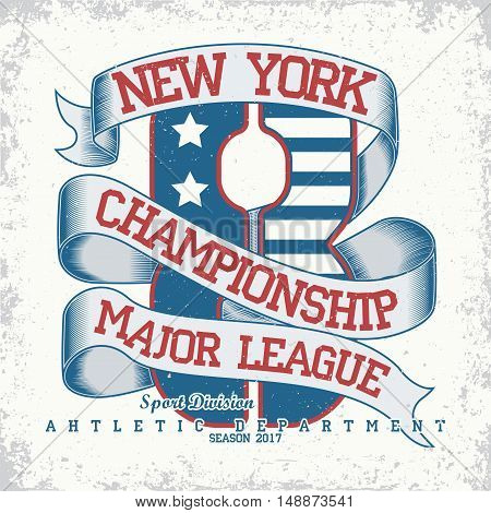 Grunge Sport t-shirt graphic design,  Vintage Sport print stamp, Sports wear typography emblem, Creative design, Vector