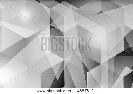 Abstract black and white background. Template for style design