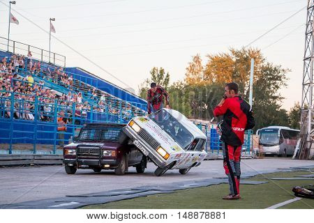 Extreme Car Show In Kirov City In 10 Of August In 2016