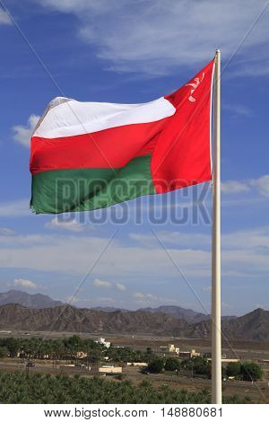 Flag Of Oman