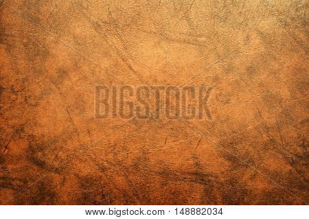 Brown chamois texture , surface background .