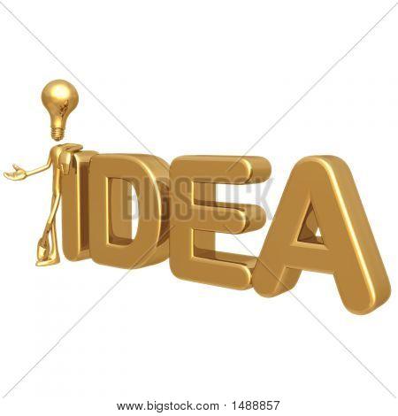 Lightbulb Idea Presenter