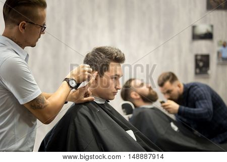 Modern Hairsalon For Men
