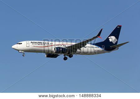 Aeromexico Boeing 737-800 Airplane