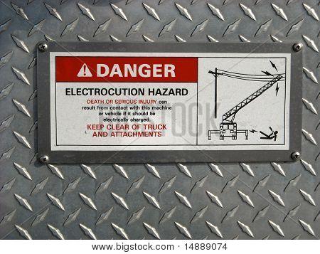 danger electrocution