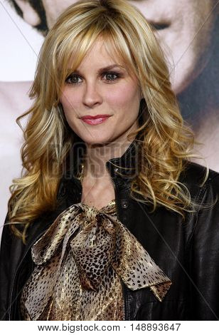 Bonnie Sommerville at the World premiere of 'Walk Hard' held at the Grauman's Chinese Theater in Hollywood, USA on December 12, 2007.