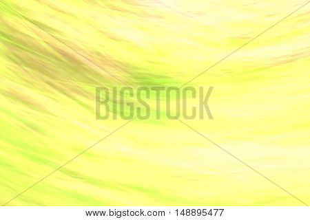 yellow blurred abstract design background with elements of colored impurities