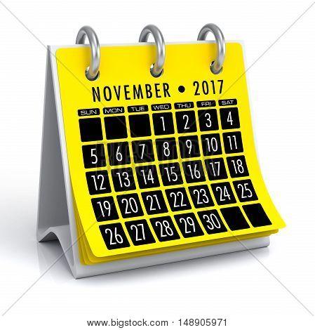 November 2017 Calendar
