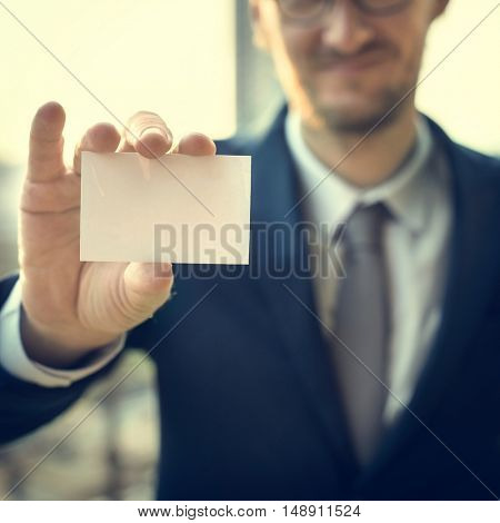 Business Card Corporate Alliance Concept
