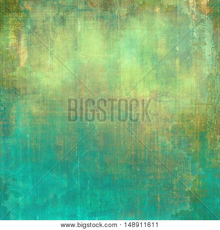 Retro texture, shabby and ragged background in grunge style. With different color patterns: yellow (beige); brown; gray; green; blue; cyan