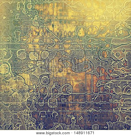 Retro background, antique texture for abstract vintage design composition. With different color patterns: yellow (beige); brown; gray; green; red (orange); purple (violet)