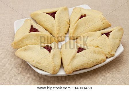 Apricot Hamantaschen Pastry