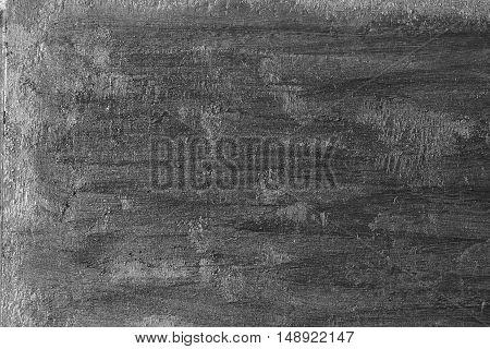 Black texture of grunge wood background. Closeup