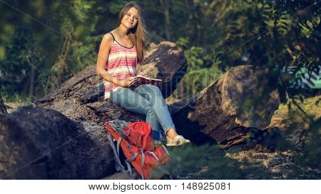 Leisure Relax Summer Tourism Carefree Travel Concept