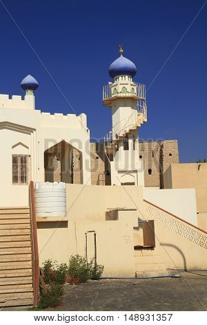 A Minaret in a village, Sultanate of Oman