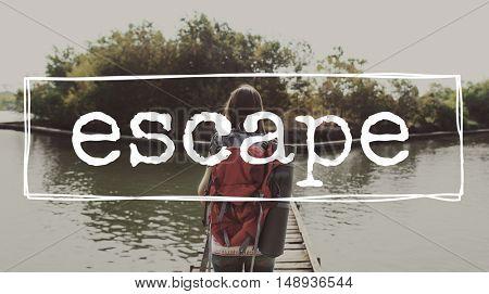 Escape Destination Exploration Journey Travel Concept