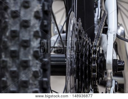 The Bicycle gear road metal cogwheel, Sport
