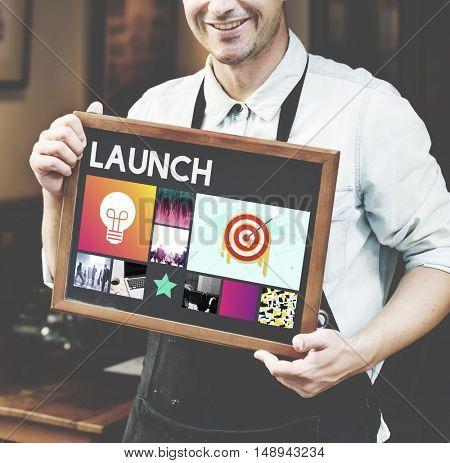 Startup Brand Marketing Vision Concept