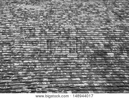 Image Of Old Wooden Roof.
