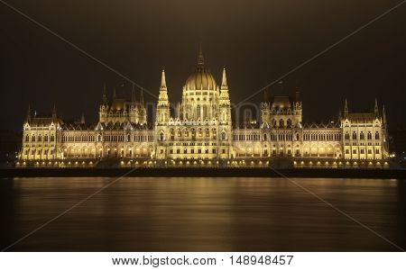 One great building with unique architecture in Hungary