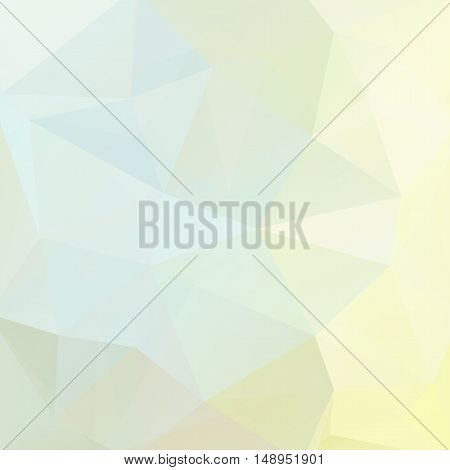 Background Of Geometric Shapes. Pastel Mosaic Pattern. Vector Eps 10. Vector Illustration