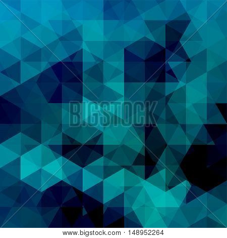 Abstract Mosaic Background. Triangle Geometric Background. Design Elements. Vector Illustration. Dar