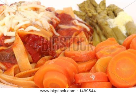 Carrots With Pasta