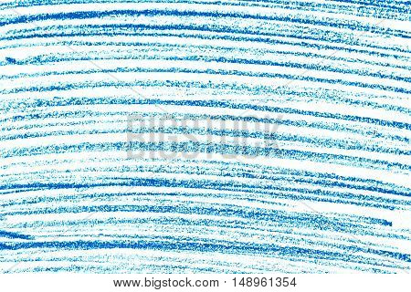 Blue pencil on paper, texture or background