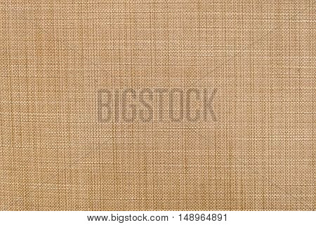 Fabric Texture Close Up of Brown and White Fabric Texture Pattern Background.