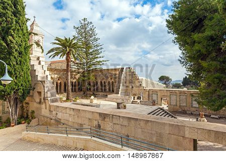 Church Of The Pater Noster, Mount Of Olives, Jerusalem