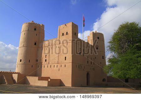 The Fort Barka in Sultanate of Oman