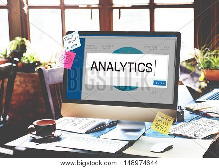 Analytics Strategy Solution Business Concept