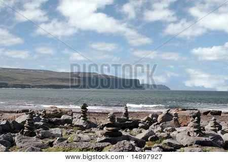 Doolin Beach With Rock Stacks