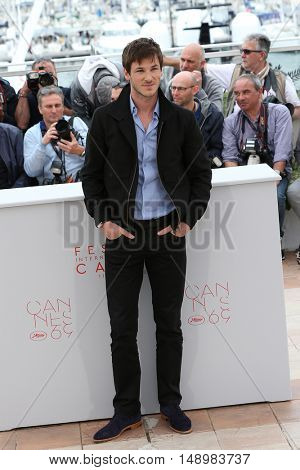 Gaspard Ulliel at the photocall for The Dancer (La Danseuse) at the 69th Festival de Cannes. May 13, 2016  Cannes, France