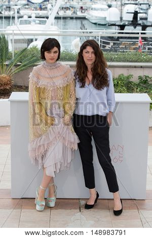 Soko, Stephanie Di Giusto  at the photocall for The Dancer (La Danseuse) at the 69th Festival de Cannes. May 13, 2016  Cannes, France