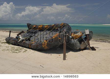 Barcos de refugiados cubanos