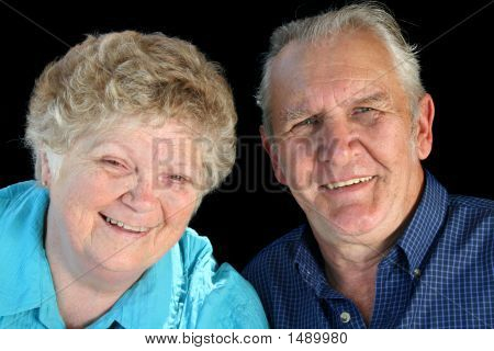 Married Senior Couple