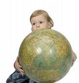Baby And Globe t-shirt