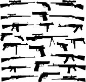 stock photo of uzi  - Collection of Gun  - JPG