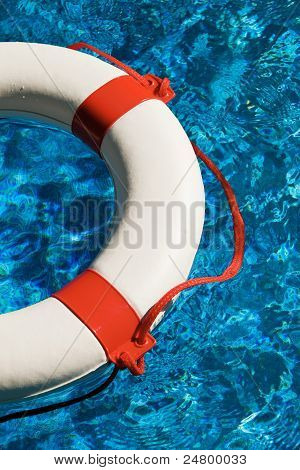 swim rings in water