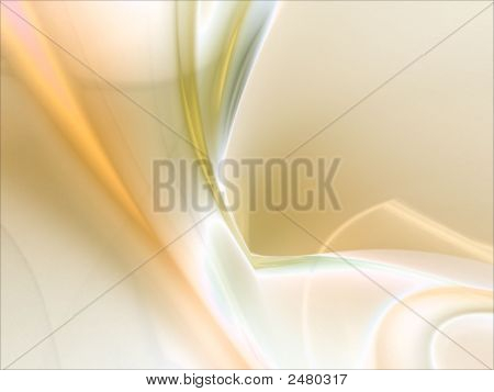 Fractal Abstract Background - Peach Rippling Textures