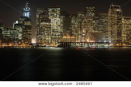 Downtown At Dusk, San Francisco