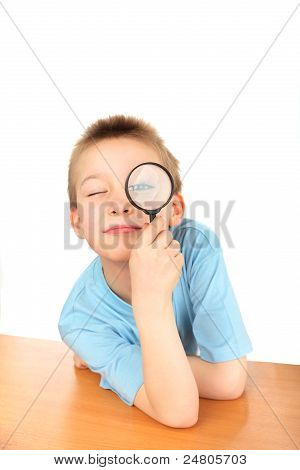 Boy With Loupe