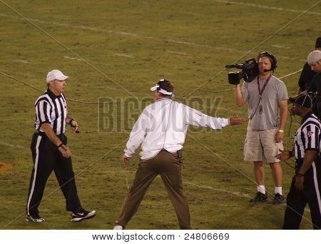 USC Coach Lane Kiffin