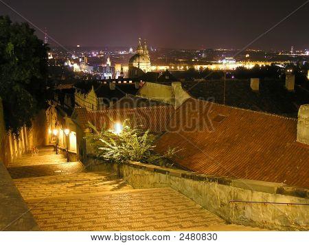 Prague Castle Cityscare