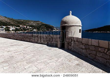 City Walls In Dubrovnik