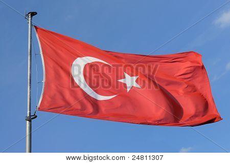 Bandera Nacional de Turquía