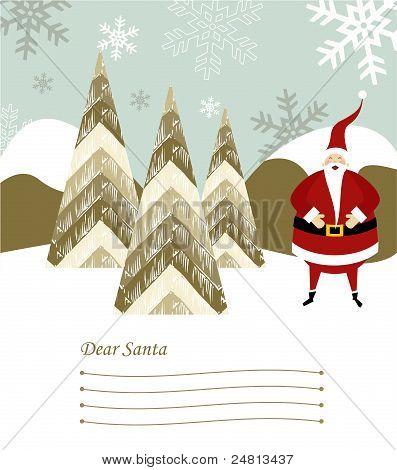 Santa Claus Letter.