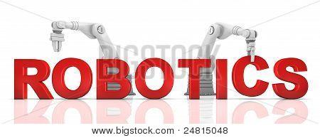 Industrial Robotic Arms Building Robotics Word