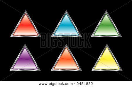 Glossy Triangle Set
